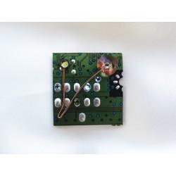 Insolente 14051 - bijou fantaisie broche- circuit imprimé vert