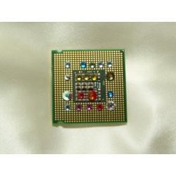 Insolente 14052 - bijou fantaisie broche- circuit imprimé vert