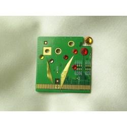 Insolente 14053 - bijou fantaisie broche- circuit imprimé vert