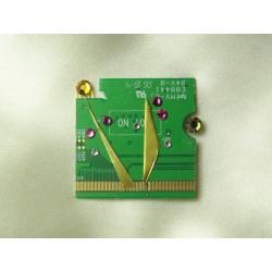 Insolente 14054 - bijou fantaisie broche- circuit imprimé vert