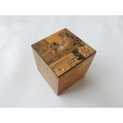 Capricieuse 15070 - boite - circuit imprimé doré
