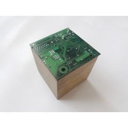 Insolente 15071 - bijou fantaisie broche - circuit imprimé vert