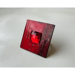 Capricieuse 18090 - bijou fantaisie bague- circuit imprimé rouge