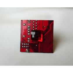 Capricieuse 18091 - bijou fantaisie bague- circuit imprimé rouge