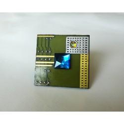 Insolente 18092 - bague bijou fantaisie - circuit imprimé vert