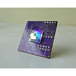 Mystique 18093 - bijou fantaisie bague - circuit imprimé violet