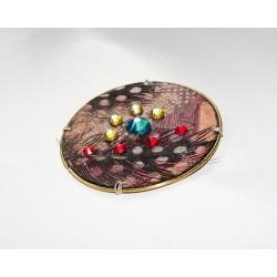 Libertine 18101 - bijou fantaisie aimanté - circuit imprimé cuivré