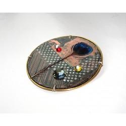 Libertine 18102 - bijou fantaisie aimanté - circuit imprimé cuivré
