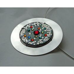 Insolente 18129 - bijou fantaisie broche - circuit imprimé vert