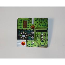 Insolente 13048 - bijou fantaisie broche- circuit imprimé vert