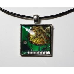 libertine 18168 - pendentif bijou fantaisie - circuit imprimé cuivré