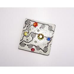 imperieuse18183 - bijou fantaisie aimanté - circuit imprimé blanc